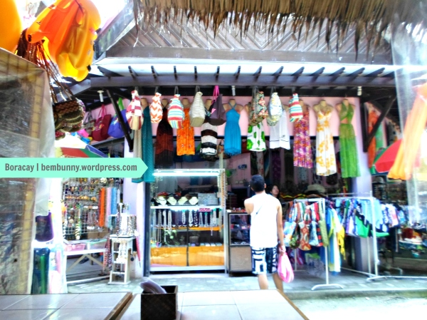 A souveniir store in D'Mall, Boracay, Aklan, Philippines